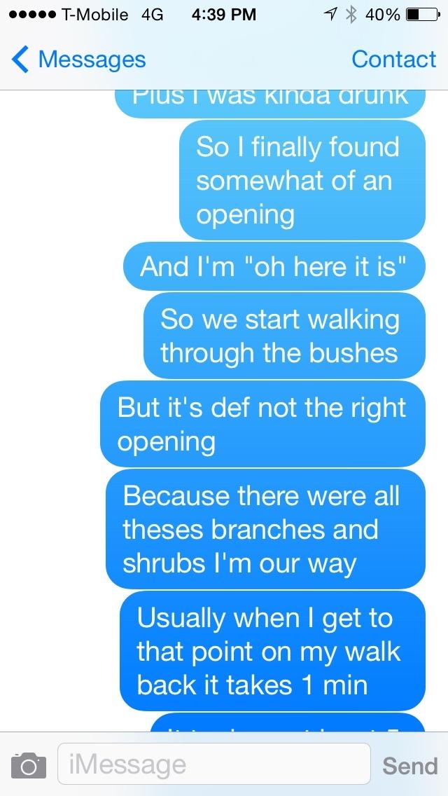 story scarborough message transcript